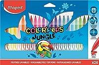 MAPED Estuches rotuladores Jungle 24 Ud Colores Surtidos 845422