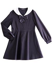 90e448fa6ca63 (キャサリンコテージ) Catherine Cottage子供服 MA211 女の子 フォーマル 白襟 セーラー ワンピース