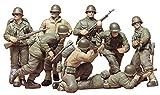 タミヤ 1/35 ミリタリーミニチュアシリーズ No.48 アメリカ陸軍 歩兵GIセット プラモデル 35048 画像