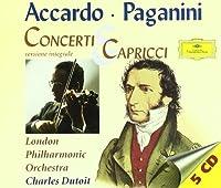 Concerti & Capricci - Salvatore Accardo spielt Paganini: La Campanella, La Primavera, Sonata Sentimentale, amo! by Salvatore Accardo (1999-09-15)
