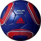 adidas(アディダス) サッカーボール ジャブラニ クラブプロ AF4815BWR ブルーXレッドXホワイト 4号