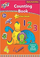 Galt Toys Home Learning Counting Sticker Books