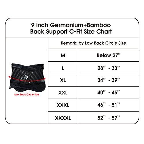 (VITAL SALVEO)バイタルサルウェ-ゲルマニウム+竹炭より低いバックサポートー (XXL)