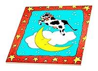 ファーム動物–Cow Jumped Over the Moon–タイル 6-Inch-Ceramic ct_1287_2