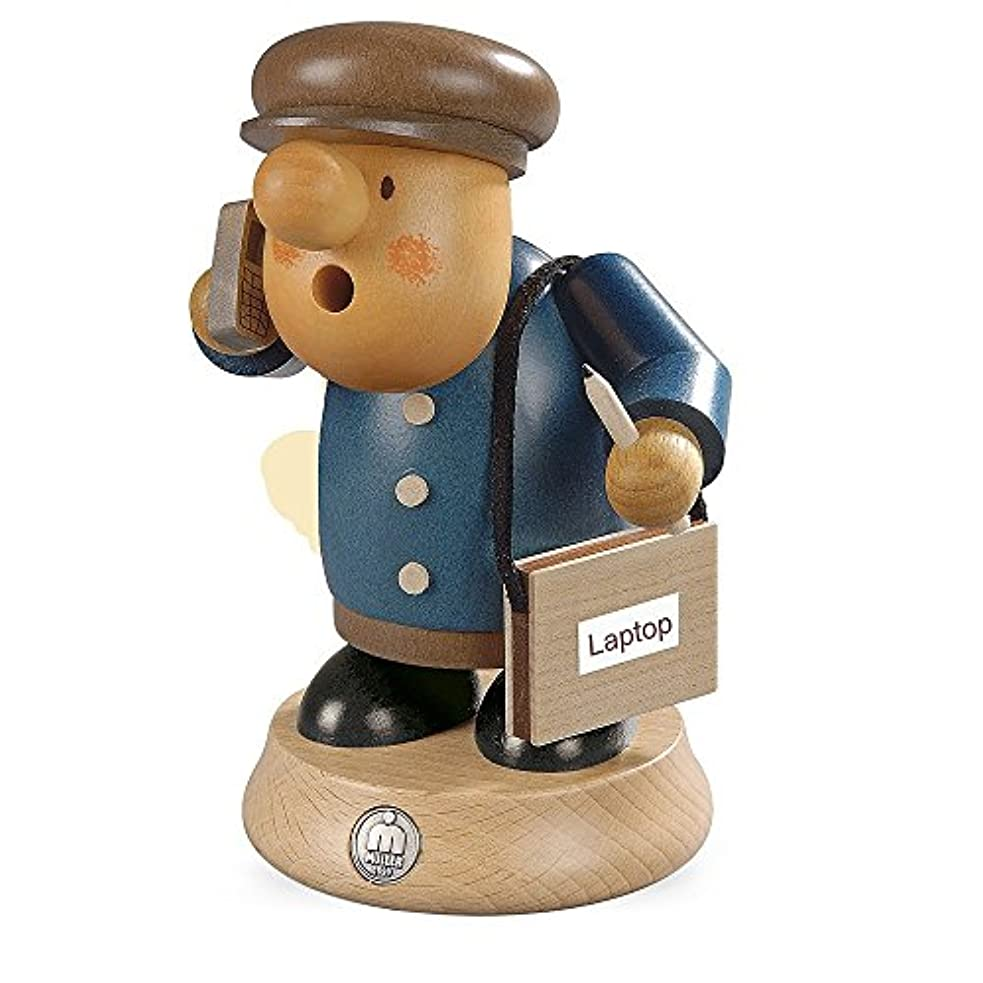 ドイツ語Incense Smoker Business Man – 16 cm / 6インチ – Müller Kleinkunst