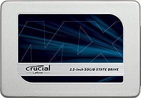 Crucial [ Micron製 ] 内蔵SSD 2.5インチ MX300 525GB ( 3D TLC NAND / SATA 6Gbps / 3年保証 )正規代理店 CT525MX300SSD1