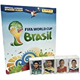 Panini Brazil 2014 Official Licensed Product Empty Album + Complete Sticker Collection