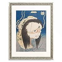 葛飾北斎 Katsushika Hokusai 「百物語 お岩さん」 額装アート作品