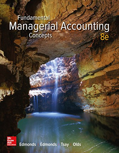 Download Fundamental Managerial Accounting Concepts 1259569195