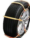 ネクシード(nexeed) 緊急脱出用 使い捨て タイヤチェーン ジャッキアップ不要 非金属 10本入