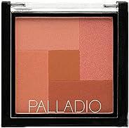 Palladio 2-in-1 Mosaic Powder, Desert Rose, 8 g