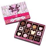 ディズニー スウィート ラブ 2019 アソーテッド チョコレート ( リボン付 ピンク箱 ) バレンタイン お菓子 チョコレート リゾート限定