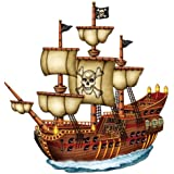 Beistle 50469 Jointed Pirate Ship, 31 -インチ