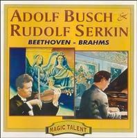 Beethoven/Brahms;Sonatas