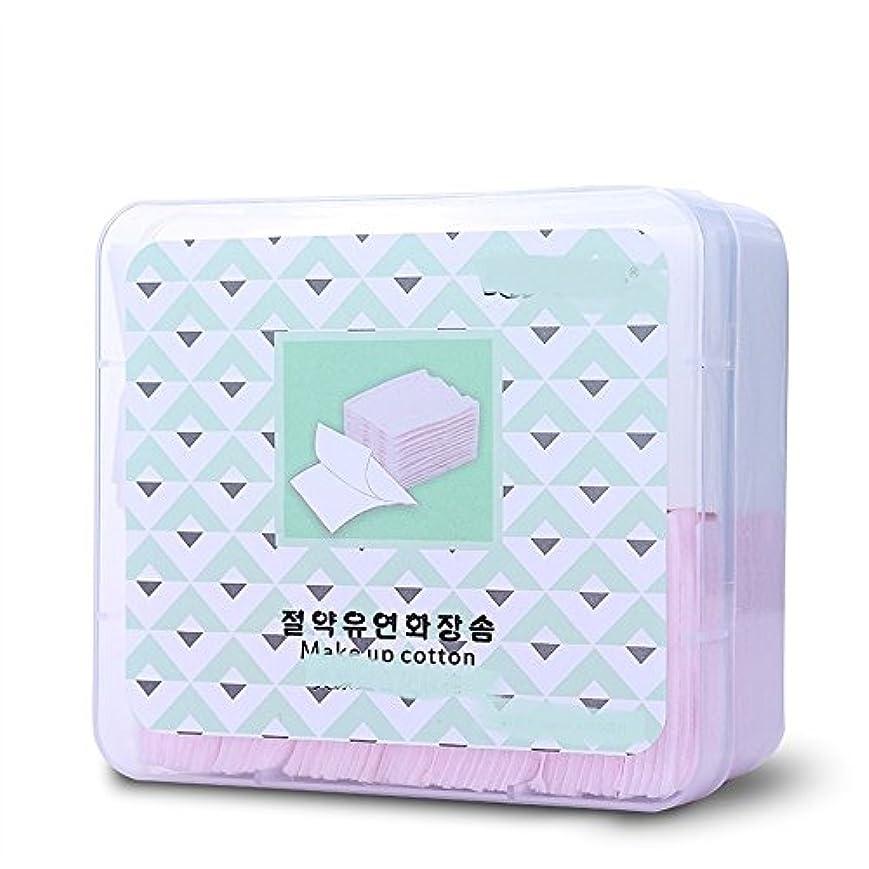 信じる省やりがいのあるAorunji 柔らかい 2 in 1ナチュラルオーガニックコットンパッドソフトリントフリーコットンパッドアイナイルメイクリムーバー化粧品コットン(Appr.460pcs)
