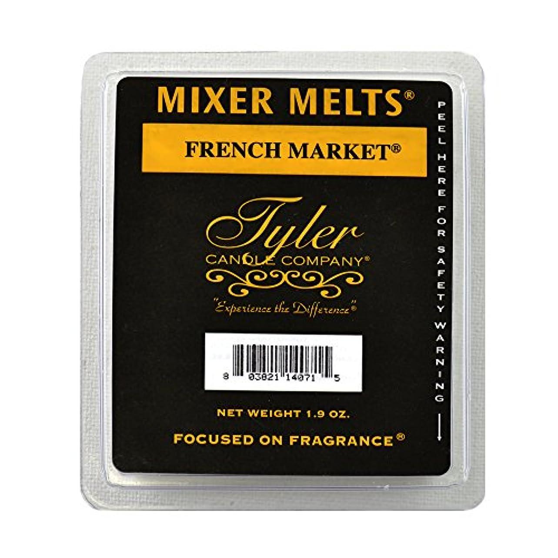 レバー合わせて願うTyler Candles Mixer Melts - French Market by Tyler Company