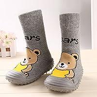 Gaorui Baby Toddler Girl Boy Socks Shoes Cartoon Animals Anti-slip Boots Slipper Indoor
