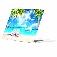 """トップケース–Beach Dayグラフィックスゴム引きハードケースカバーfor MacBook Macbook Pro 13"""" A1708/A1706 (2016 Release) GG-PP-15"""