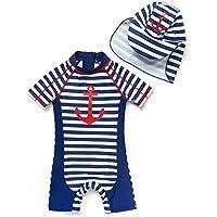 Bonverano Baby boy UPF 50+ Sun Protection One Pieces Swimsuit