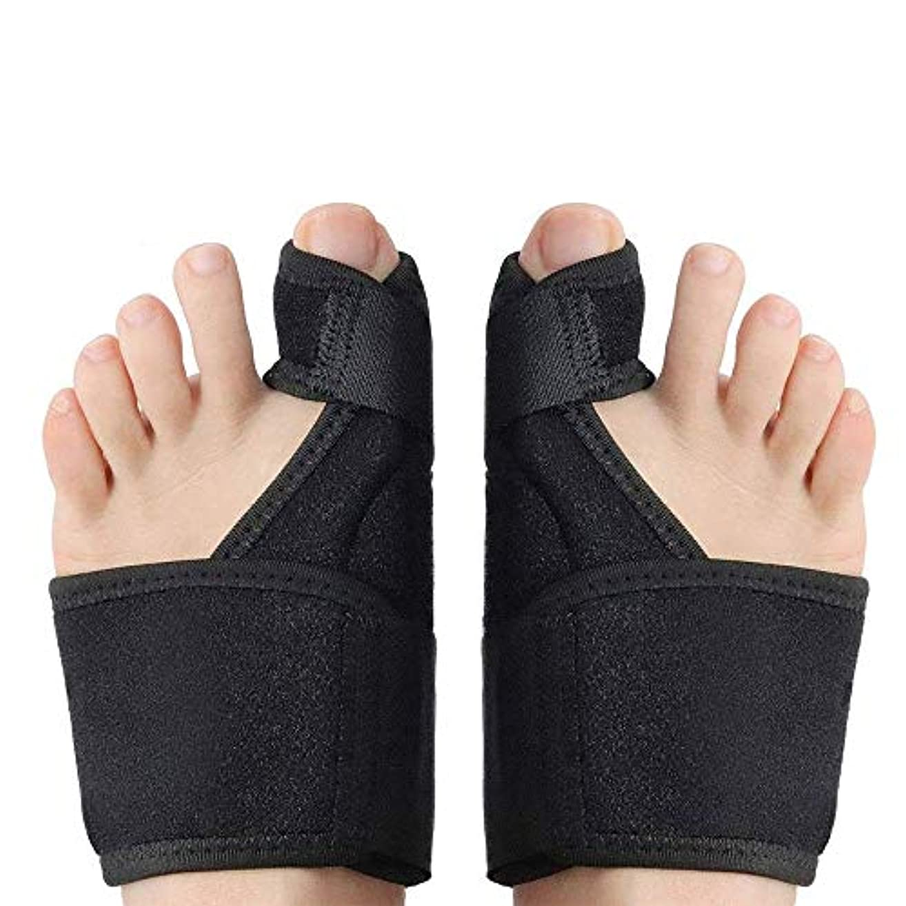 サイレント絶壁インストール腱膜矯正および腱膜弛緩整形外科のつま先ストレイテナー御馳走して外反母趾装具快適な外反ベルトアップグレードパッケージ