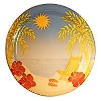 Sandy Seaside Nautical Spring Summer Picnic Party Paper Plate Packs ? Various Sizes (Sandy Cove 9-32 Cnt) [並行輸入品]