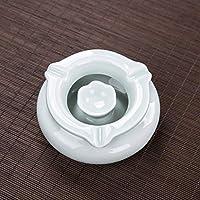 CXQ セラミック青磁灰皿古典的な中国の風媒。 (Color : Celadon)