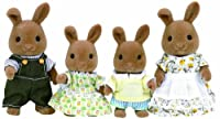 Sylvanian Families - Dappledawn Rabbit Family - 4181 - New by Sylvanian Families [並行輸入品]