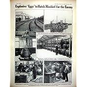 *0440 世界大戦の 1919 年の Handley のページの飛行機の爆薬の卵