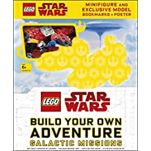 LEGO® Star Wars Build Your Own Adventure Galactic Missions: with LEGO Star Wars Minifigure and Exclusive Model