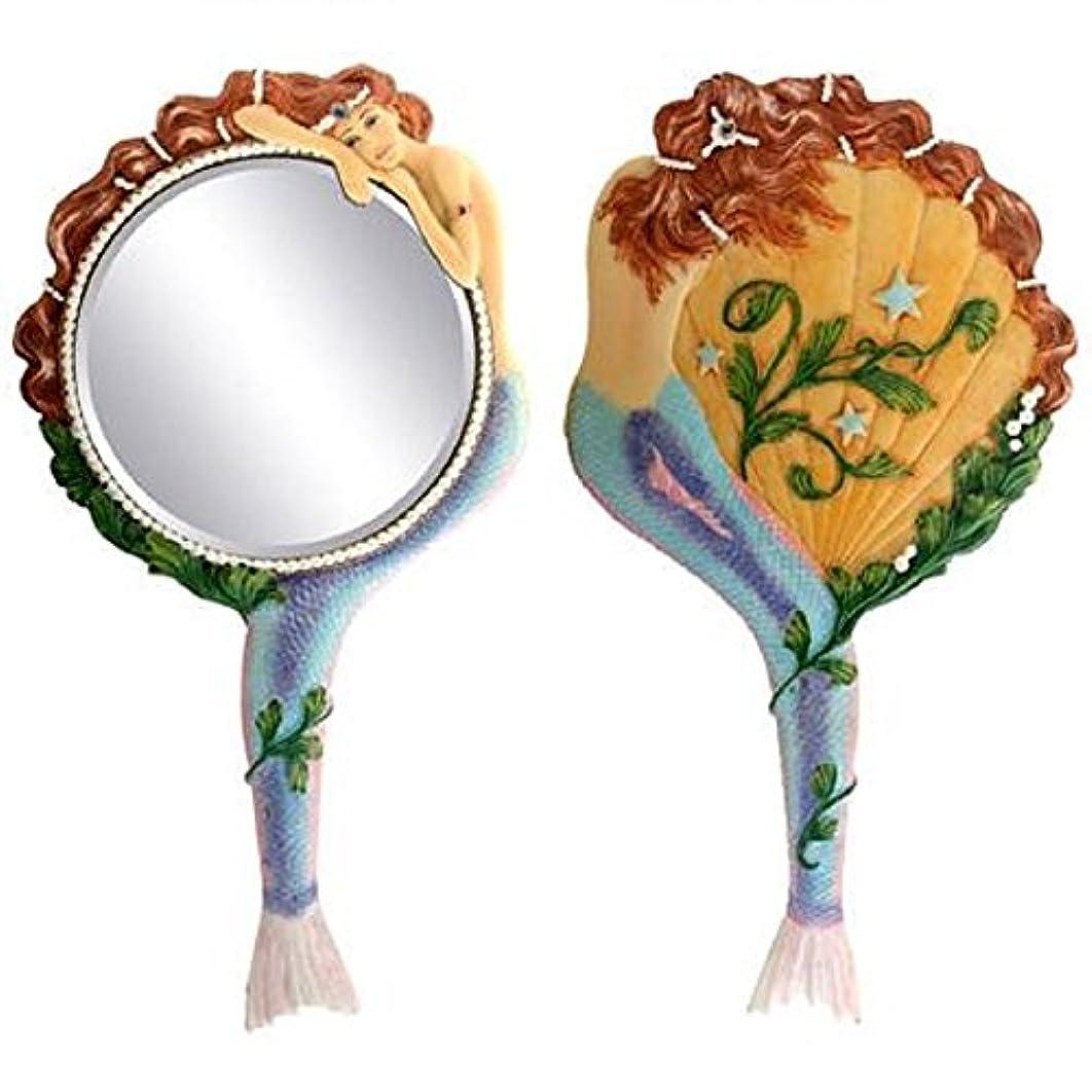 ヒョウしなやかなアスリートMermaid Hand Mirror Collectible Sea Nymph Decoration Figurine by Summit