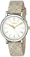 Timex Originals Watch Womens Standard タン