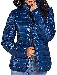 (チェイス シークレット)Chase Secret レディース ダウンジャケット ウルトラライト ダウン コート 軽量 防風 防寒 ライトダウン 大きいサイズ(S-XXL)