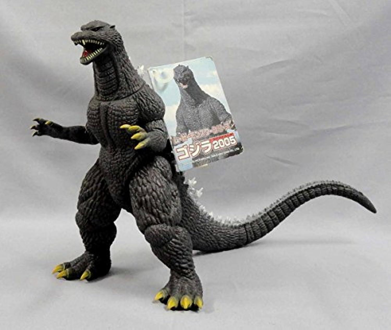 ムービーモンスター ゴジラ2005 ソフビ タグ付 東宝怪獣 バンダイ