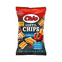 チップス   Chio   レンズ豆チップスパプリカ   総重量 100 グラム