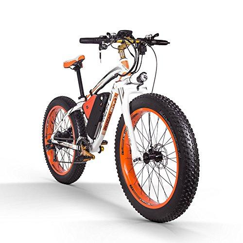 RICH BIT 022 電動アシスト自転車 26インチ 1000W 48V*17AHリチウムバッテリー mtbマウンテンバイク 21変速 電動自転車 雪道 悪路 日本の公道は走れるできます