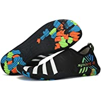 SAGUARO Aqua Water Shoes Quick Drying Non-Slip Breathable Barefoot Shoes Swim Surf Aqua Socks for Women Men