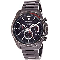Seiko Men's SSB311 Grey Stainless-Steel Japanese Chronograph Diving Watch,Grey