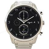 (アニエスベー)agnes b. 腕時計クロノグラフ ソーラー セイコー ステンレス 中古