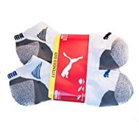 Puma Mens No Show Socks - 6 Pack
