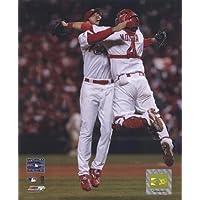 アダム・ウェインライトYadier Molina 2006ワールドシリーズのゲーム5( # 24写真印刷16x 20