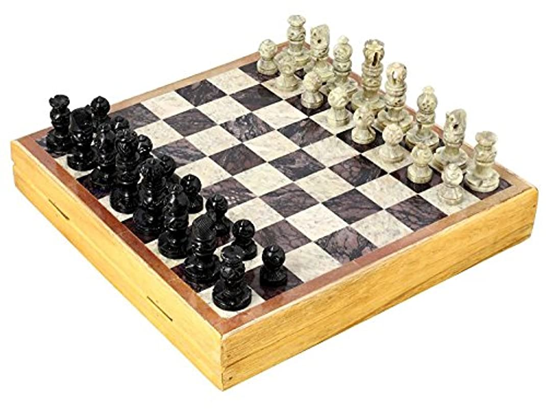 減る議論するスピーチSoapstone Chess Set by OL