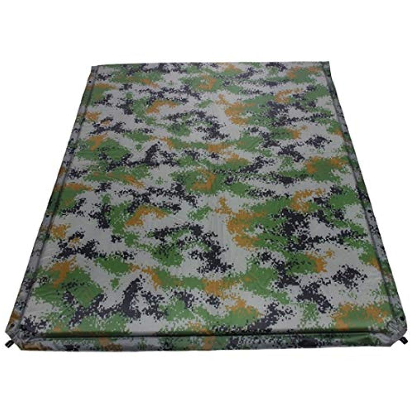 シャンパン治安判事つかまえるノウ建材貿易 インフレータブルエア睡眠パッド軽量防水自己膨張とコンパクトキャンプマットレスパッドカモフラージュ色 (色 : Camouflage)