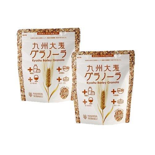 西田精麦 九州大麦グラノーラ プレーン 200g×2袋