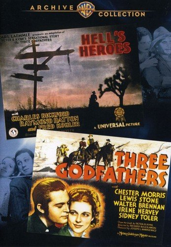 Wac Double Features: Hells Heroes/Three Godfather [DVD] [Import]