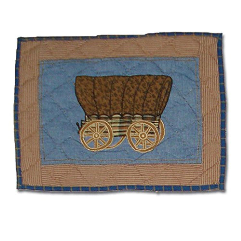 Patch Magic 41cm by 30cm Cowboy Crib Toss Pillows