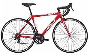 HASA(ハサ) R5 レッド フレームサイズ460mm シマノTOURNEY21speed ロードバイク デュアルコントロールレバー装備 前後キャリパーブレーキ 前後クイックリリース アナトミックシャロードロップハンドル 10.4kg 80501-0246