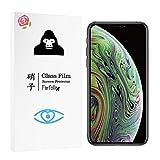 Farfalla iPhone XS/iPhone X[ブルーライトカット/CORNING GORILLA GLASS 5使用/3D Touch対応/硬度9H/オイルコーティング/防指紋/2.5Dラウンドエッジ加工/飛散防止]ガラスフィルム (0.3mm)