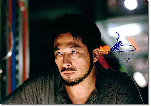 真田 広之 (サンシャイン 2057) 直筆サイン入り写真