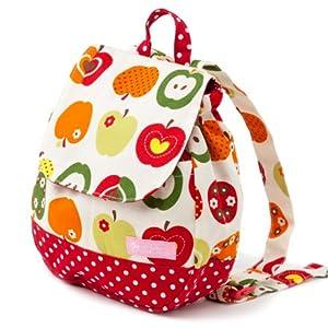 ベビーリュック 赤ちゃん 日本製 おしゃれリンゴのひみつ(アイボリー) B1600500