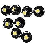 cnomg 直径8mm T3 ダッシュ電球 ルームランプ 車ランプ エアコンランプ 時計ランプ 低消費電力 長持ちLED器具 10個セット